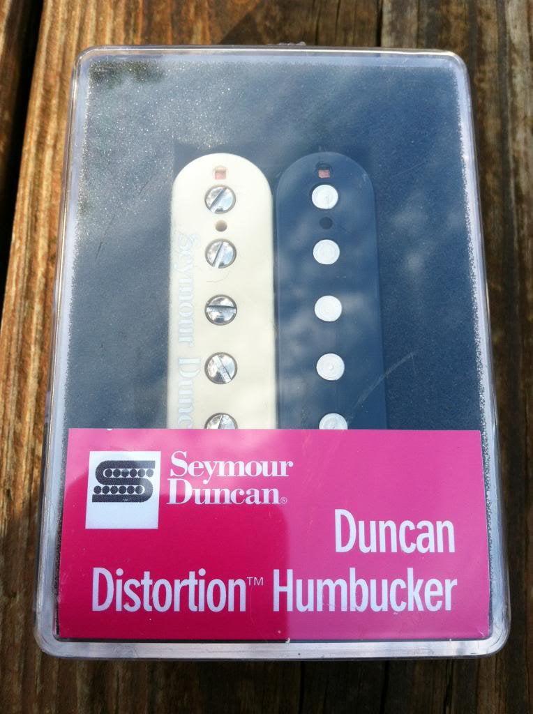 Seymour Duncan Distortion SH-6 BRIDGE Humbucker Guitar Pickup Zebra by Seymour Duncan