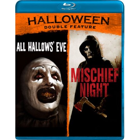 HALLOWEEN DOUBLE FEATURE (BLU RAY) (ALL HALLOWS EVE/MISCHIEF NIGHT)(WS/2.35 - Halloween Night Trailer 2017