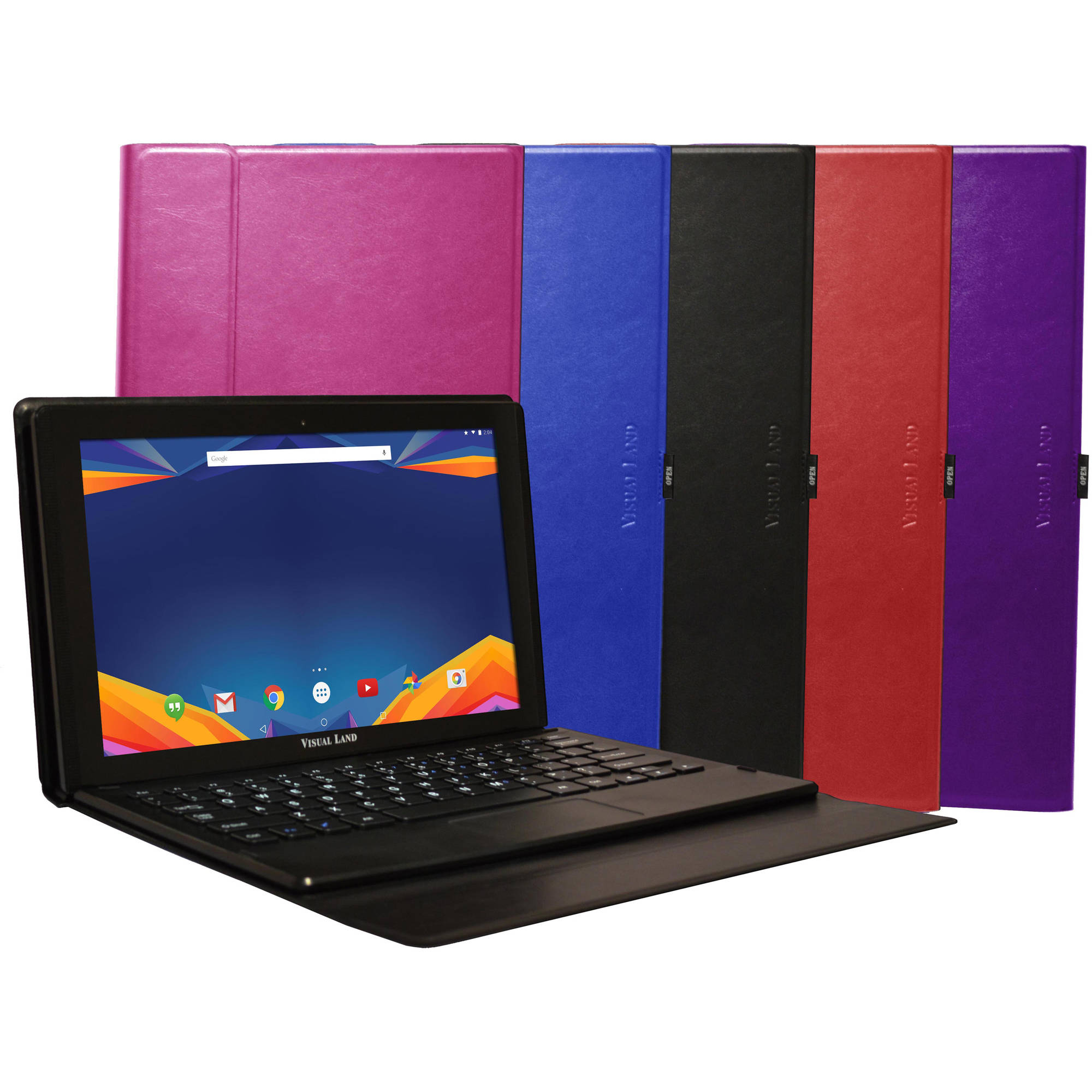 "Visual Land Prestige Prime with WiFi 11.6"" Touchscreen Tablet PC Featuring Android 5.0 (Lollipop) Operating System"