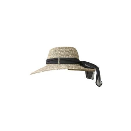 D Y - Women s Summer Designer Floppy Sun Hat - Ribboned - Walmart.com 181bb7f63f1