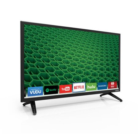 Vizio D D24-d1 24″ 1080p Led-lcd Tv – 16:9 – Black – 178; / 178; – 1920 X 1080 – Dts Studio Sound, Dts Truvolume – 4 W Rms – Edge Led – Smart Tv – 1 X Hdmi – Usb – Ethernet – Wireless (d24-d1)
