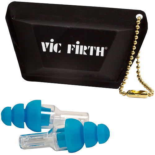 Vic Firth High-Fidelity Regular Earplugs, Regular, Blue