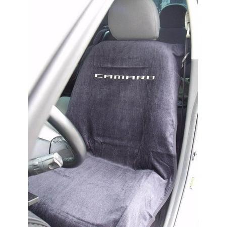 Camaro Logo Seat Cover