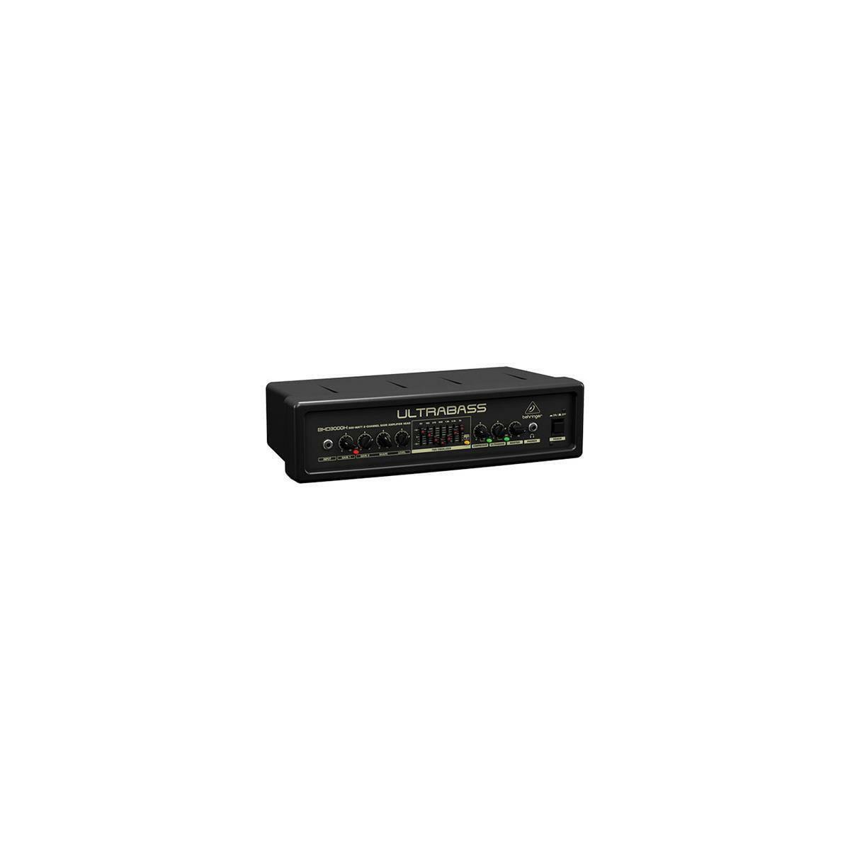 behringer ultrabass bxd3000h ultra lightweight 300w 2 ch bass amplifier head. Black Bedroom Furniture Sets. Home Design Ideas