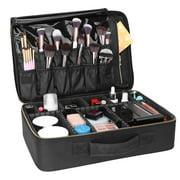 Best Bag Organizers - Ktaxon Travel Makeup Train Case Organizer Portable Artist Review