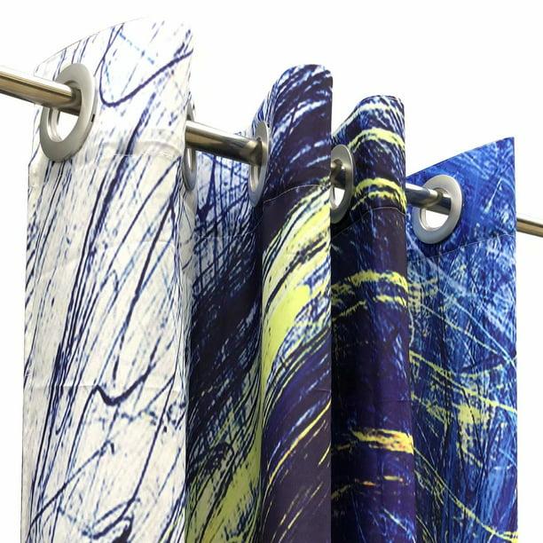 Pro Space 3d Printed Outdoor Curtain Panel 58 X84 Gazebo Patio Waterproof Curtain Abstract B 1 Panel Walmart Com Walmart Com