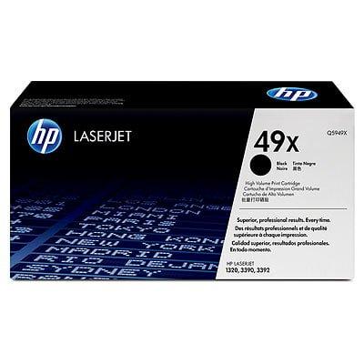 HP 49X High Yield Black Original LaserJet Toner