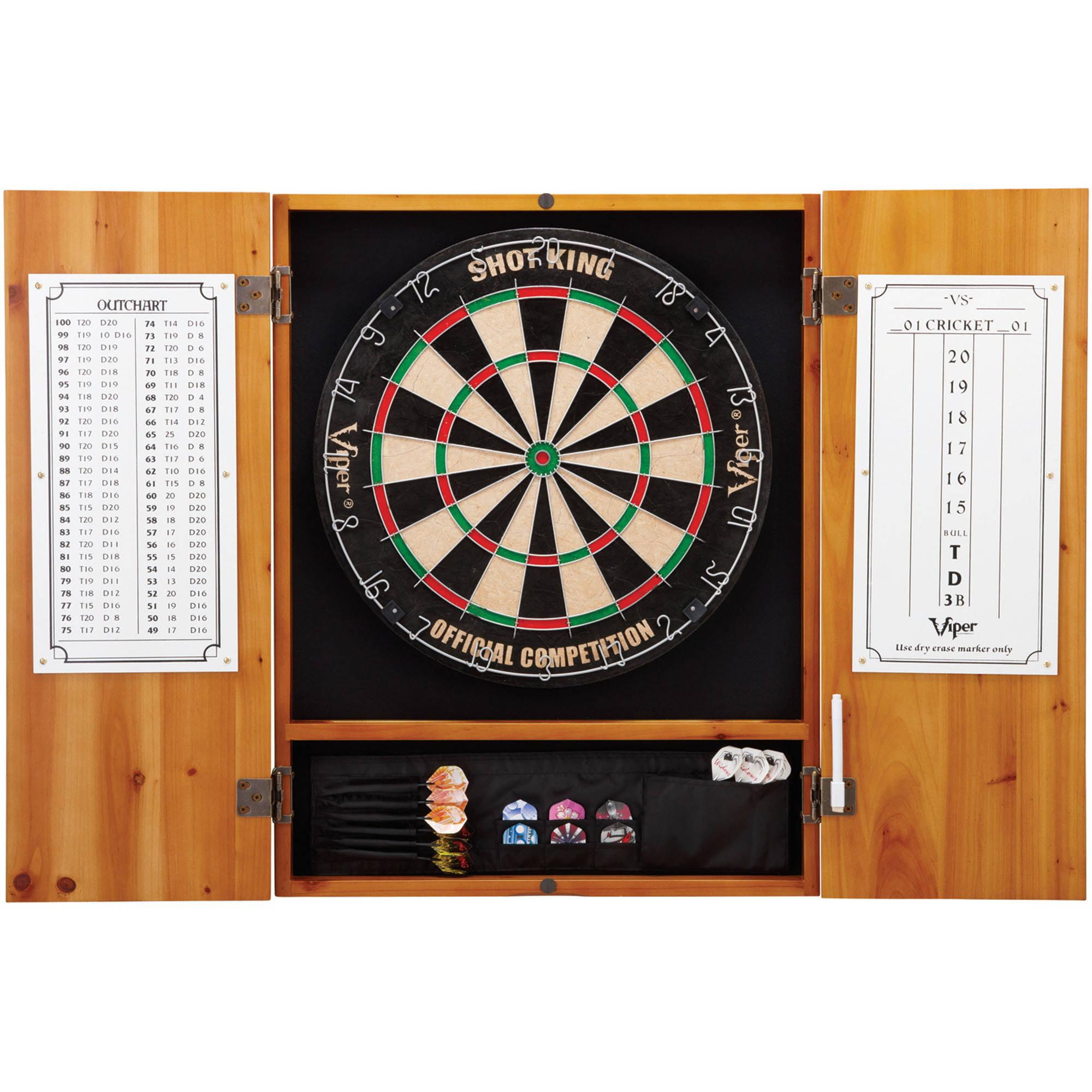 Metropolitan Dart Board Cabinet for Bristle Dart Boards