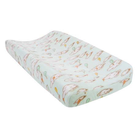 dr seuss oh the places you 39 ll go plush changing pad cover. Black Bedroom Furniture Sets. Home Design Ideas