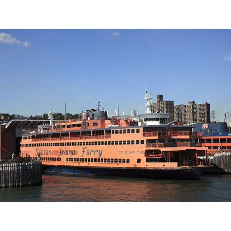 Staten Island Ferry, New York City, United States of America, North America Print Wall Art By Wendy