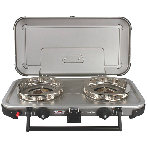 Signature Fyreknight Hyper Flame 2-Burner Propane Stove Burner by Signature