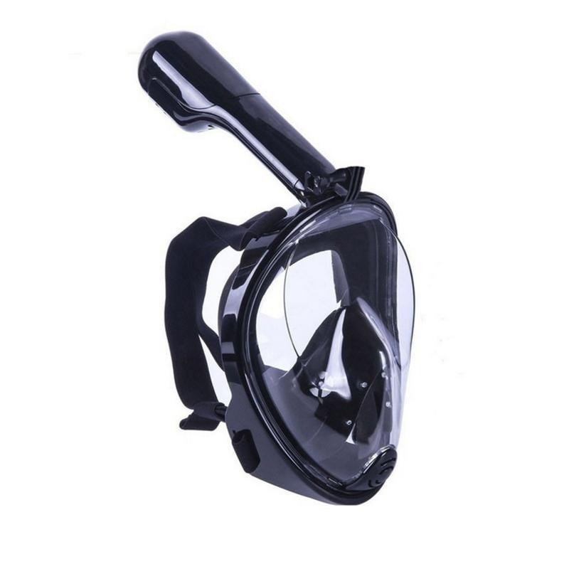 Full Face Snorkel Mask Go Pro Compatible by The Source Force