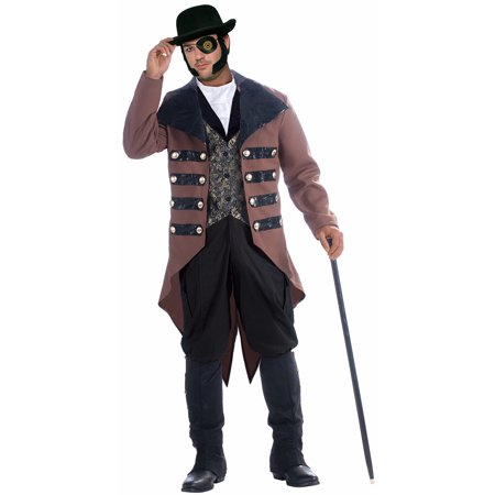 Steampunk Jack Gentleman Costume Adult Men X-Large