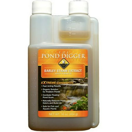 Barley Bales Ponds - The Pond Digger Liquid Barley Straw Extract 8oz