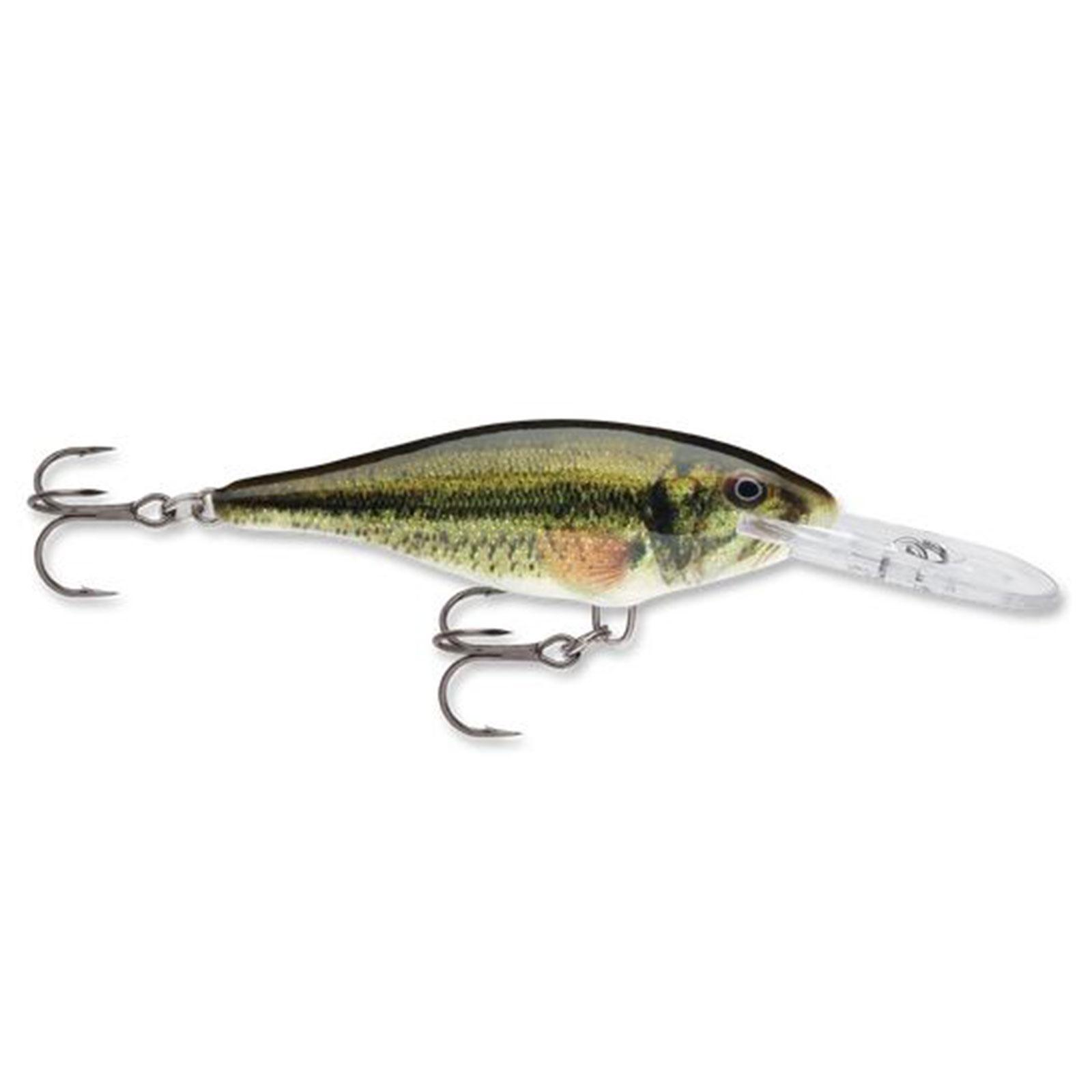 "Rapala 2"" Shad Rap Swimbait 3 16 Ounce Largemouth Bass, SR05LBL by Rapala"