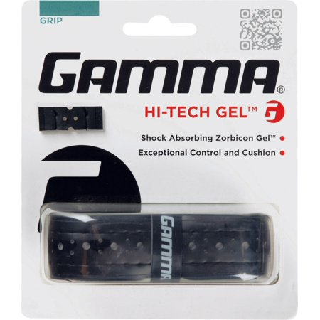 Gamma Hi-Tech Gel Replacement Grip, Black