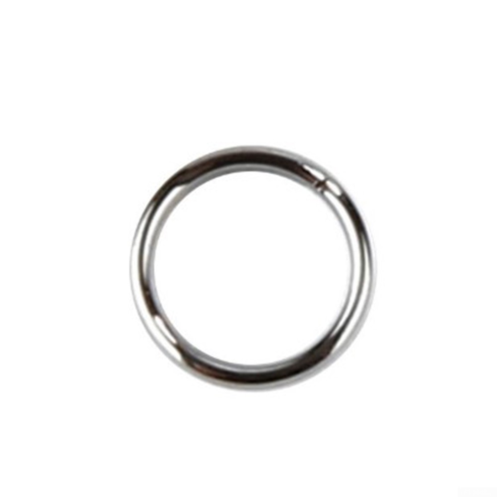 Spring coil Lock O Ring Accessories Small Ring Silver 100pcs High quality