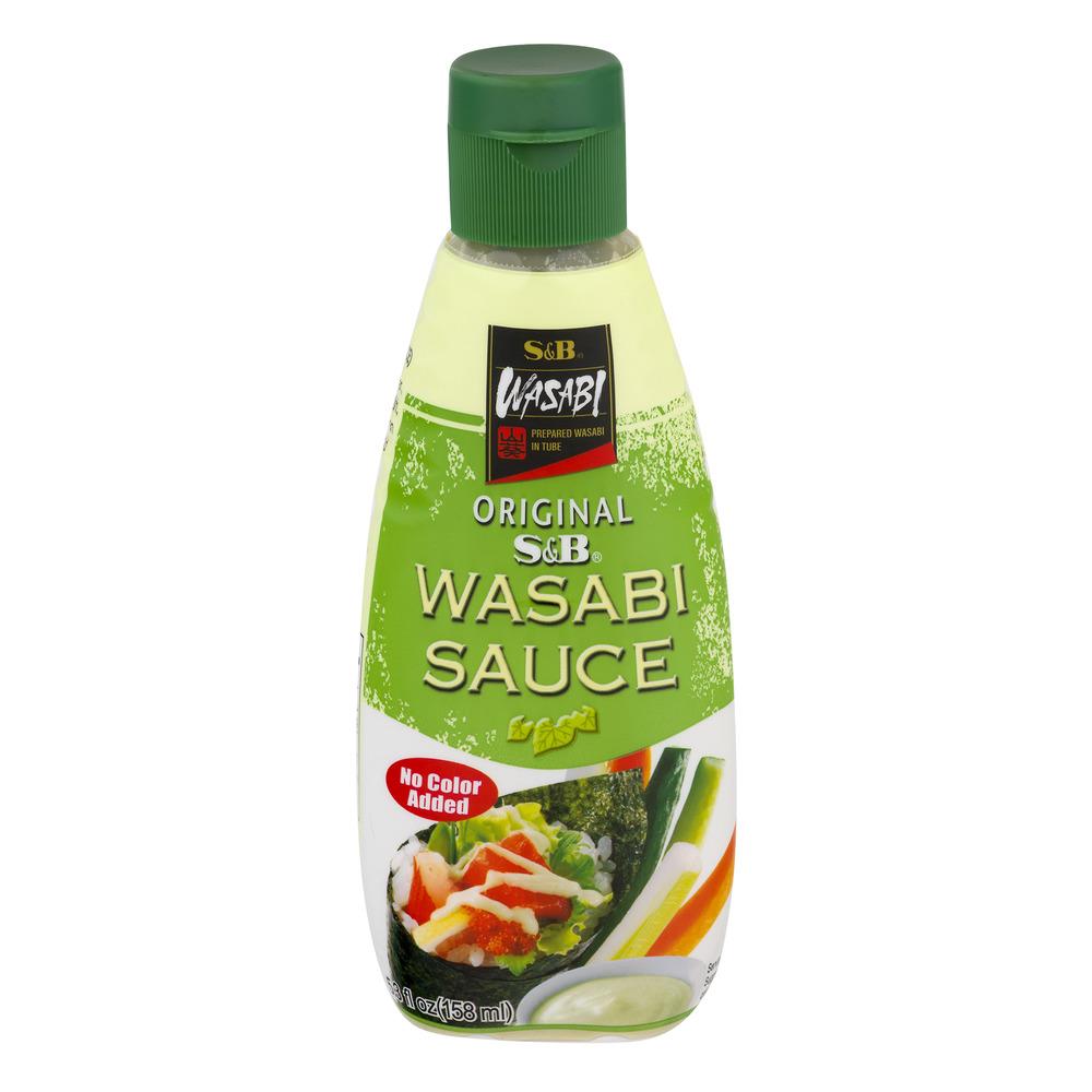 S&B Wasabi Sauce Original, 5.3 FL OZ