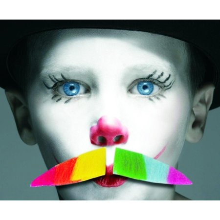 Self Adhesive Mustache (Rainbow Pride Self Adhesive Costume)