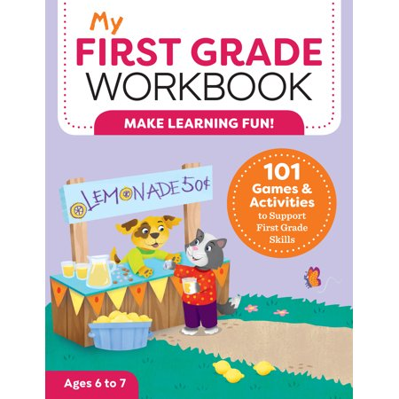 First Grade Poems Halloween (My First Grade Workbook: 101 Games and Activities to Support First Grade Skills)
