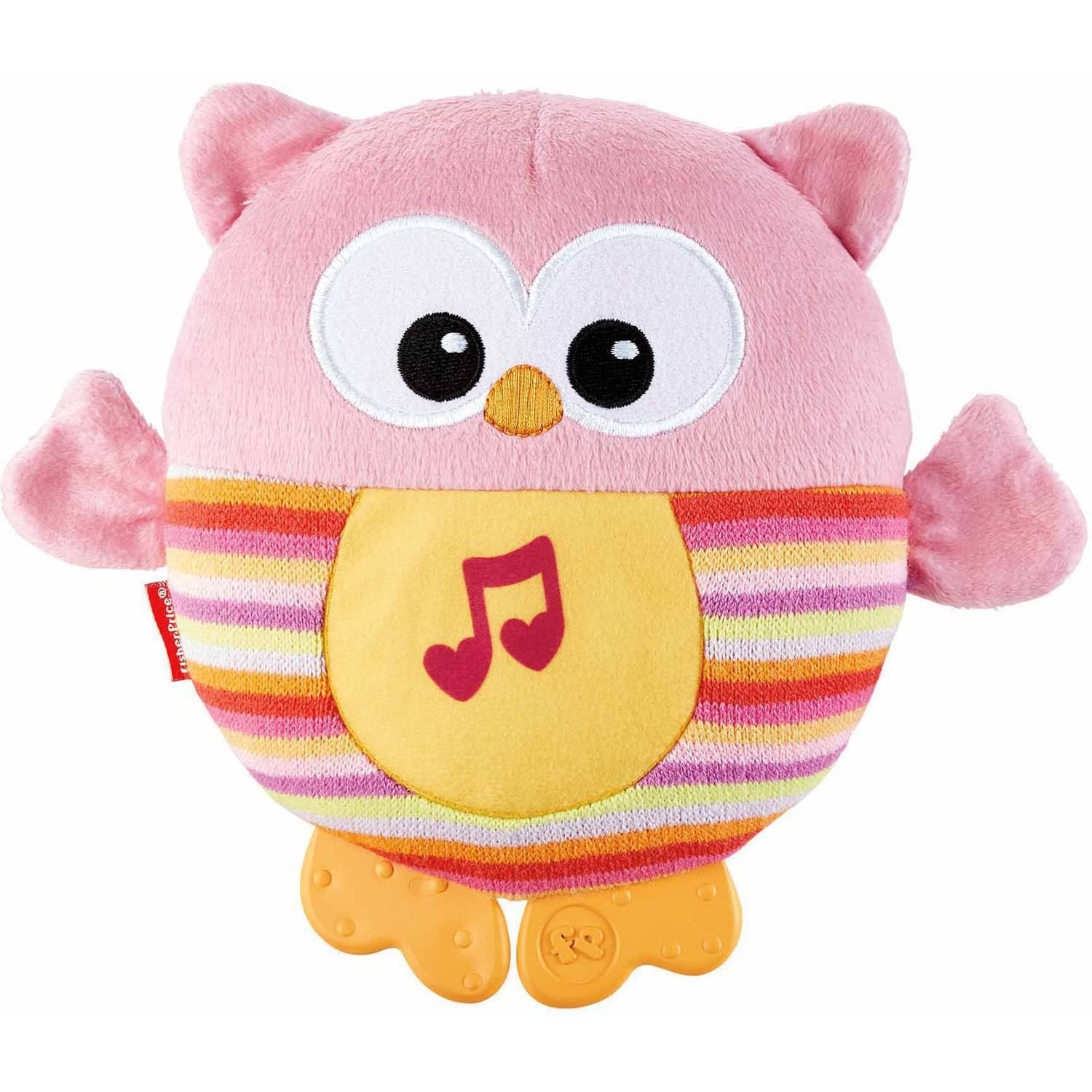 Fisher-Price Soothe & Glow Owl, Pink