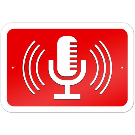Microphone Recording Streaming Broadcasting Singing Radio Podcast
