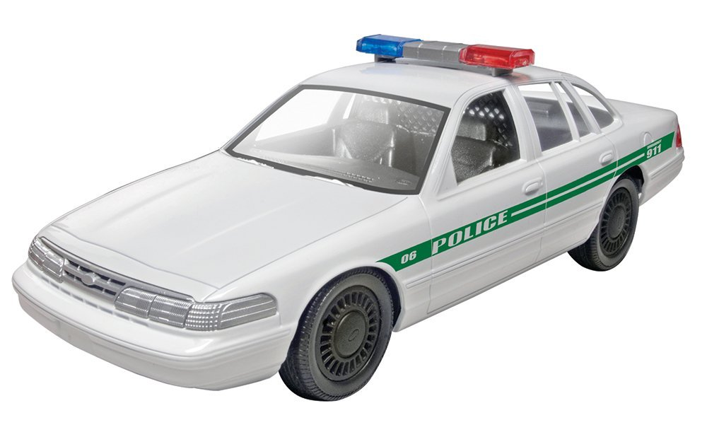 Monogram Ford Police Car Build and Play Skill Level 1 for Beginners Model Kit, Kit... by
