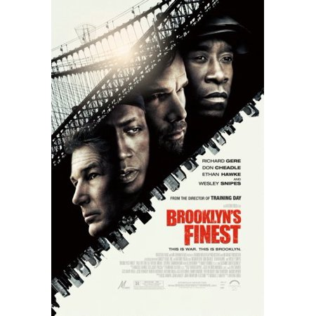 "Brooklyns Finest Poster 16""x24"" Medium Poster"