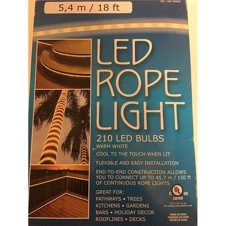 Everstar merchandise e62 es64346x led rope light bulbs warm blue aloadofball Gallery