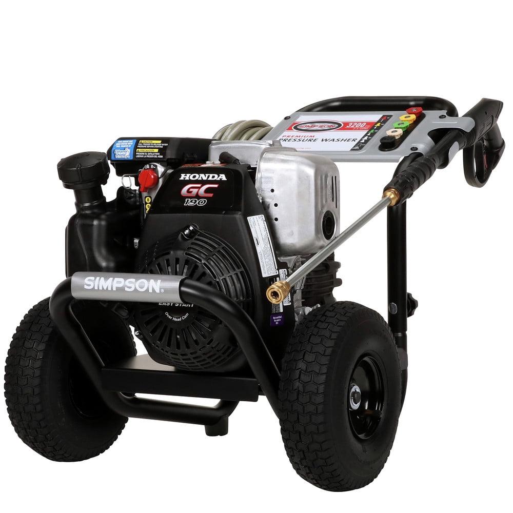 Simpson 60551 3,100 PSI 2.5 GPM Gas Pressure Washer