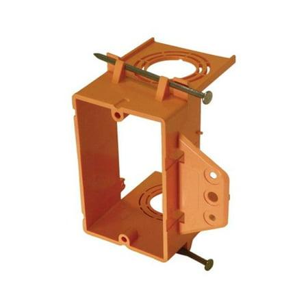 Cantex EZLV1 NWN Single Gang Junction Box PVC Orange