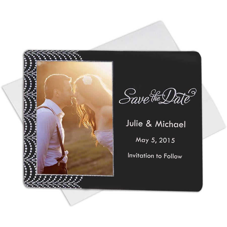 3x4 Save The Date Magnet