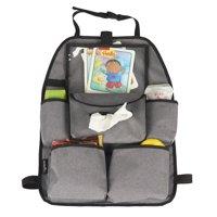 Evenflo Deluxe Car Back-Seat Organizer Accessory, Grey Melange