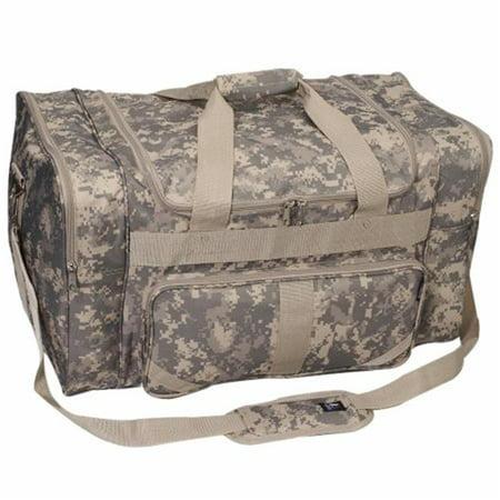 Everest DC1027-CM 27 in. 600 Denier Polyester Digital Camo Print Duffel Bag - image 1 of 1