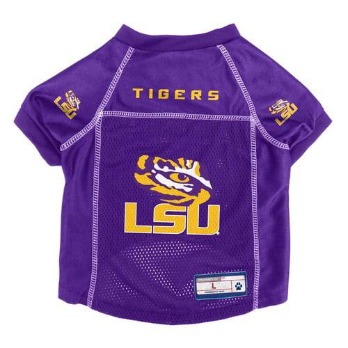 LSU Tigers Pet Jersey Size L