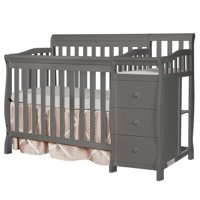 Dream On Me Jayden 4-in-1 Convertible Mini Crib and Changer