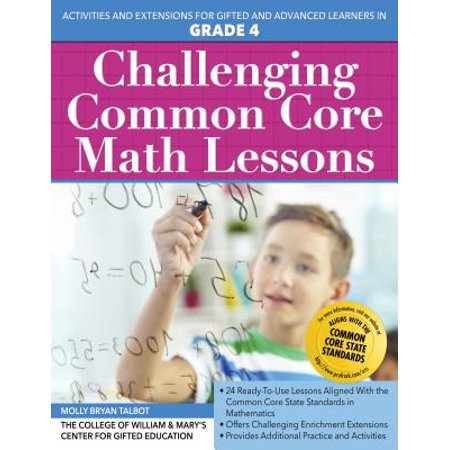 Challenging Common Core Math Lessons (Grade 4)