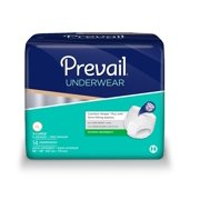 Prevail Super Plus Maximum Absorbency Pull On Underwear, X-Large, 56 Ct