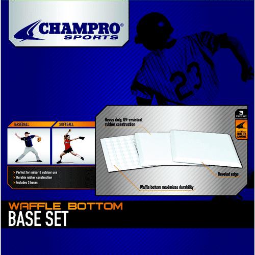 """Champro 14"""" x 14"""" x .5"""" Waffle Base Set by Champro"""