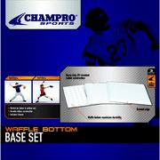 "Champro 14"" x 14"" x .5"" Waffle Base Set"