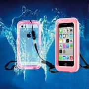 IPhone 6 / 6S Full Body Sealed Waterproof Snowproof Shockproof Dirtproof Case Pink