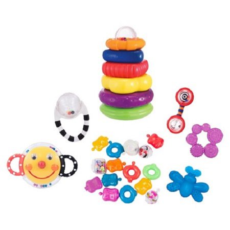 Sassy 21-piece Toy and Teether Gift Set -