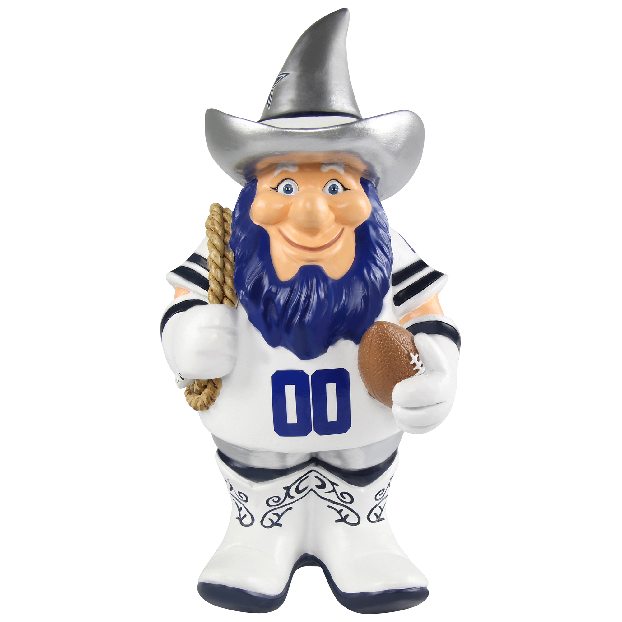 Forever Collectibles - NFL Caricature Garden Gnome, Dallas Cowboys