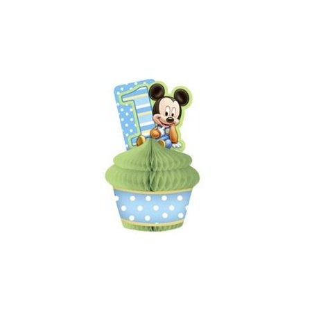 Mickey Mouse 1st Birthday Honeycomb Centerpiece (1ct)](Mickey Mouse Table Centerpiece Ideas)