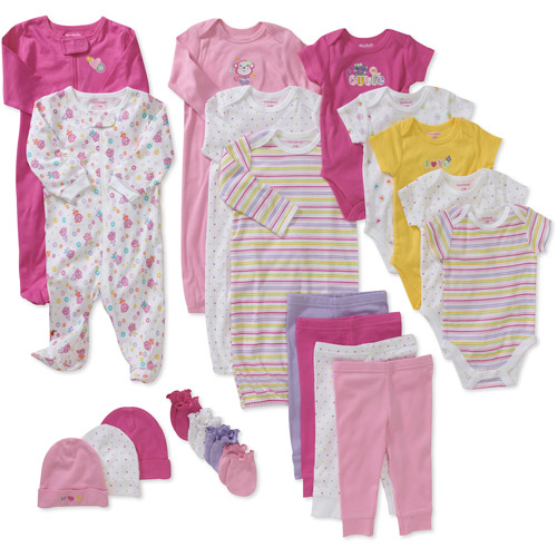 Newborn Girls' 21 Piece Layet
