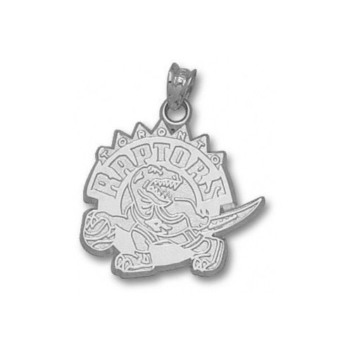 NBA - Toronto Raptors 5/8'' Sterling Silver Logo Pendant