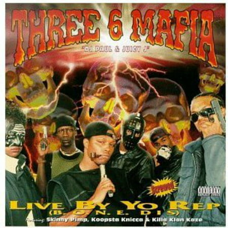 Live By the Rep (CD)