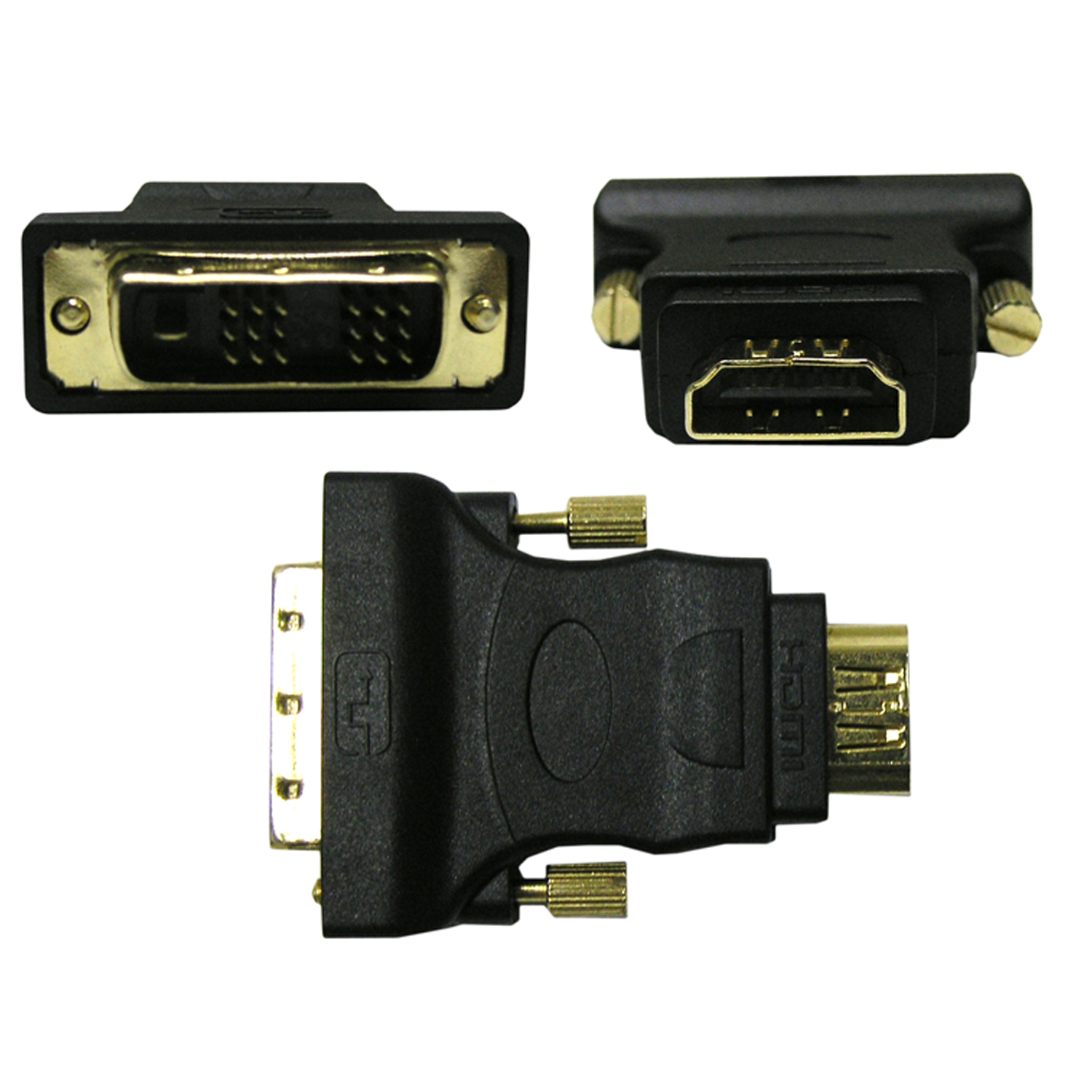 Cable Wholesale HDMI to DVI Adapter, HDMI Female to / from DVI Male