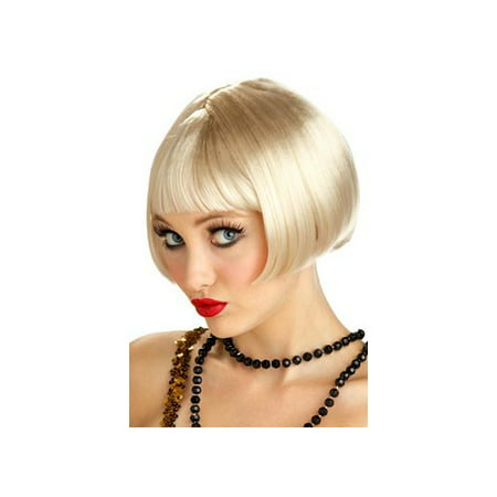 California Costume Collections Blonde Flirty Flapper Wig 70442CAL Blonde - Flapper Wig