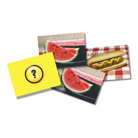 Picture Memory Foods Card Game Real Photo Concentration (Best Food For Memory And Concentration)